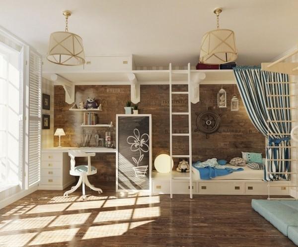 12 types of wonderful children 39 s room interior design for Types of interior design