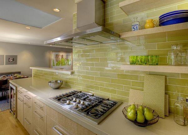Фото дизайн кухни в кафеле