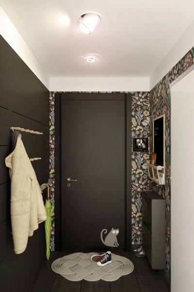 Дизайн в маленьком коридоре