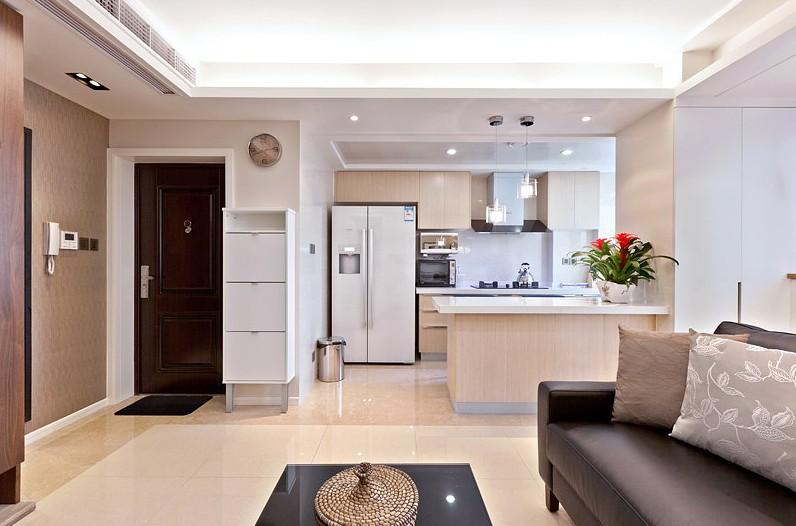 Interesting exquisite small apartment interior design for Apartment renovation ideas