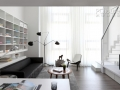 White Cabinet Design For SOHO Apartment 01