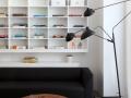 White Cabinet Design For SOHO Apartment 02