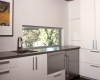 White Contemporary Kitchen Cabinet Design