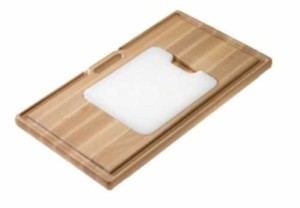WOODEN CUTTING BOARD WITH SYNTHETIC BOARD S3110