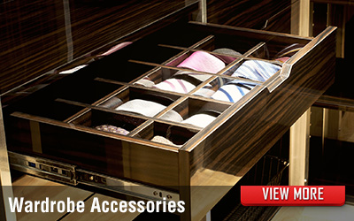 Bedroom Wardrobe Accessories