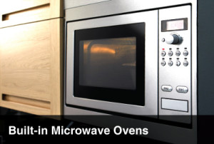 built-in microwave oven