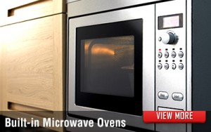 Kitchen Built-in Microwave Ovens