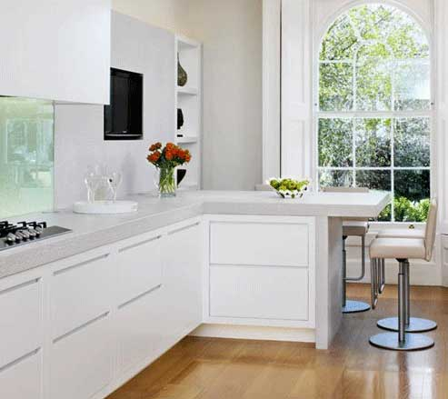 9 Kinds Of L-Shaped Kitchen Cabinets For Excellent Choice