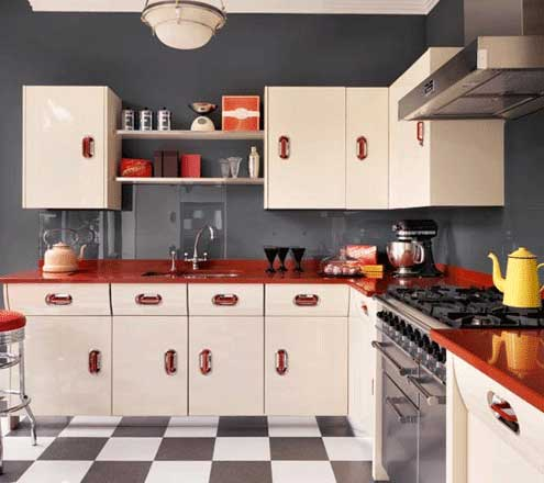 L Shaped Kitchen Design 02
