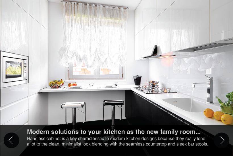 modern kitchen cabinet slide