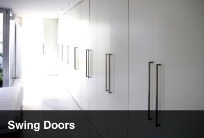 swing door wardrobe
