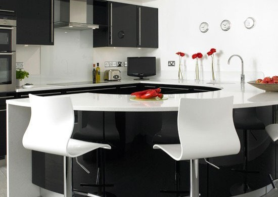 8 Types Great Colours Combination Kitchen Design 01