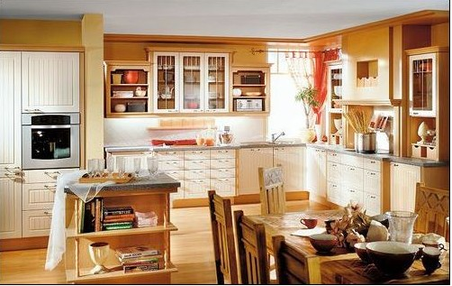 8 Types Great Colours Combination Kitchen Design 03