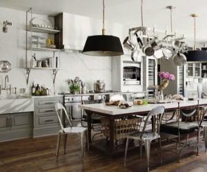 15 Sets of Large Kitchen Design 01