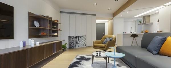 Elegant Atmosphere of The Residential Interior Design