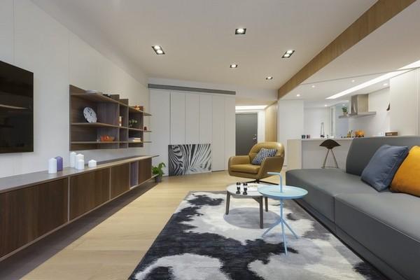 Elegant Atmosphere of The Residential Interior Design 01