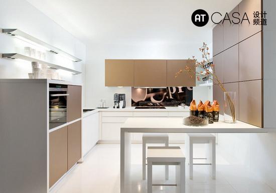 Modern White-Collar Favorite Kitchen Design 01