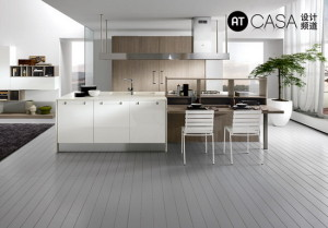 Modern White-Collar Favorite Kitchen Design 02