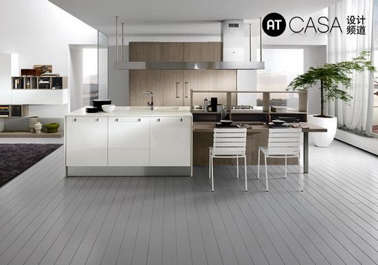 Modern White-Collar Favorite Kitchen Design 02