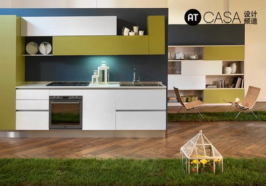 Modern White-Collar Favorite Kitchen Design 03