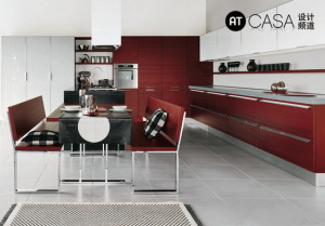 Modern White-Collar Favorite Kitchen Design 05