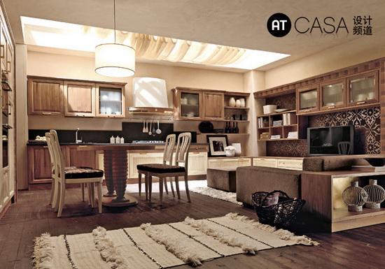Modern White-Collar Favorite Kitchen Design 06