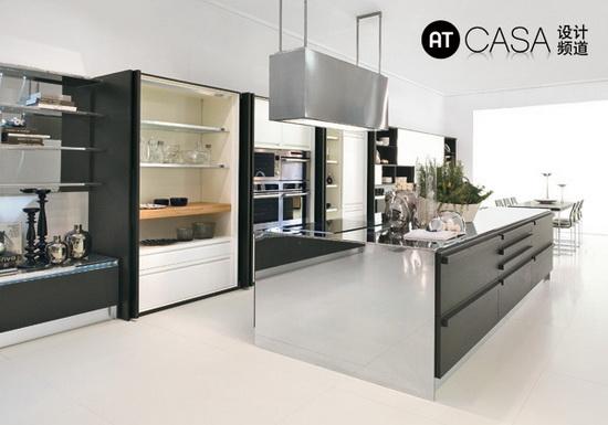 Modern White-Collar Favorite Kitchen Design 07