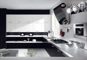 Modern White-Collar Favorite Kitchen Design 08