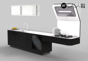 Modern White-Collar Favorite Kitchen Design 09