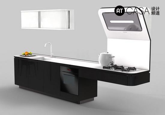 Modern White-Collar Favorite Kitchen Design 09