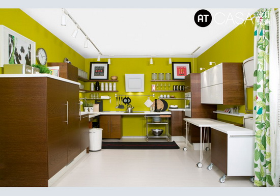 Modern White-Collar Favorite Kitchen Design 10