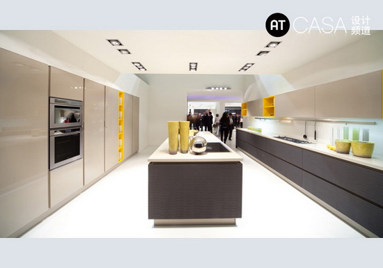 Modern White-Collar Favorite Kitchen Design 11