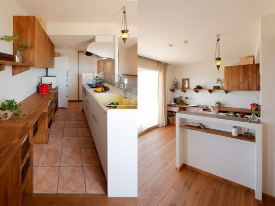 Soft Renovation For Second Hand Home On Kitchen 02