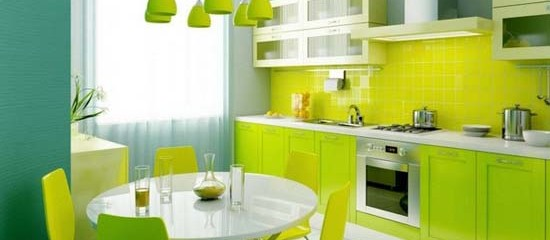 Vitality Fresh Green Kitchen Design Ideas Kustomate Kitchen Cabinet