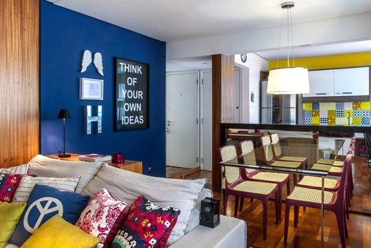 Colourful Mix and Match Penthouse Interior Design 09