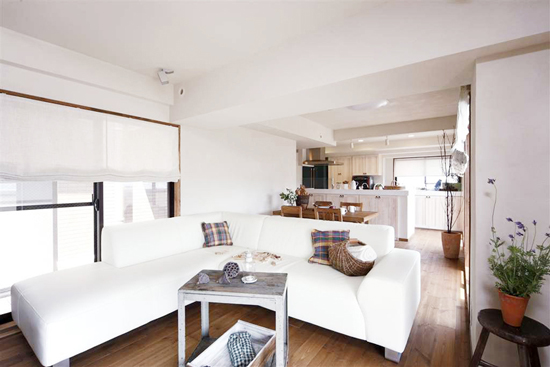 japan small apartment interior decoration 01