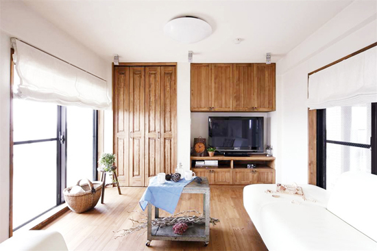 japan small apartment interior decoration 02