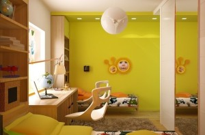 12 types of wonderful children room interior design