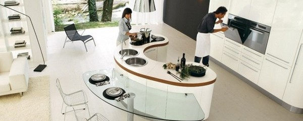 20 Open Concept Kitchen Design With Island Countertops