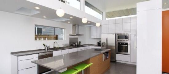 2015 New 16 Types Open Concept Kitchen Design Ideas