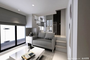 Soho Apartment With White Kitchen Cabinet Wardrobe 01