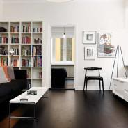 Elegant Personality Small Apartment Interior Design