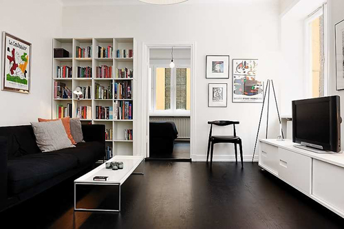 elegant personality small apartment interior design