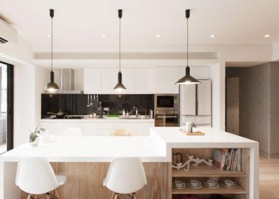 Modern Interior Design Features For Condo Interior Decoration Kitchen Countertops Design