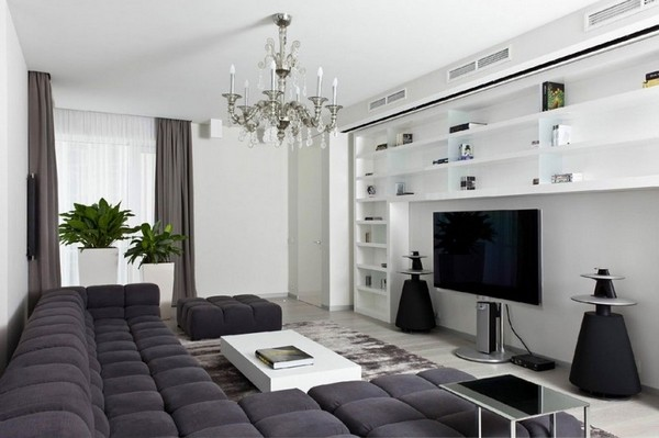 modern minimalism home apartment interior design