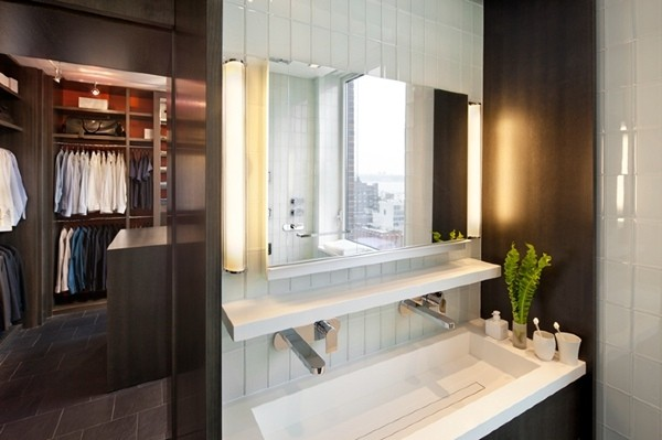 the stylish modern apartment interior design in new york for a singles men
